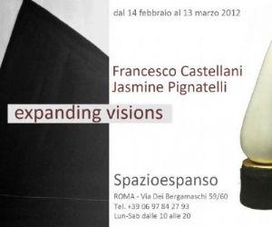 Mostre - EXPANDING VISIONS. Opere di Francesco Castellani e Jasmine Pignatelli