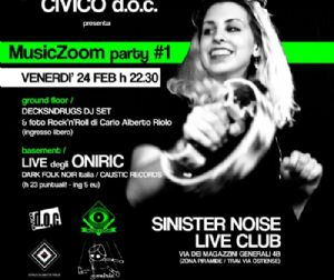 Serate - MusicZoom Party #1