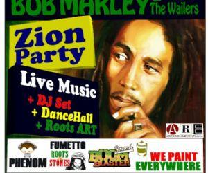 Locali - Zion Party Sabato 18 Febbraio al Centro Culturale Multietnico Baobab