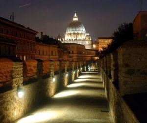 Visita serale al Passetto di Borgo, Sale dei Papi e Terrazza Panoramica