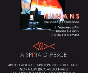 Altri eventi - A SPINA DI PESCE (evento d'Arte e performance)