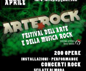 Locali: ARTEROCK Festival di Arti Visive e Musica Rock.