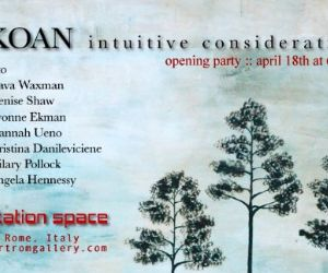 Altri eventi: Koan, intuitive considerations