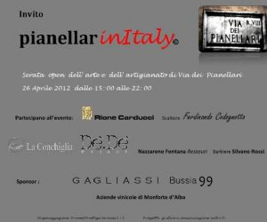 Altri eventi: PianellarinItaly