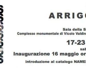 Mostre: NAMELESS Mostra personale di ARRIGO MUSTI Montecitorio - Roma