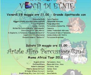 Altri eventi - ARTALE AFRO PERCUSSION BAND al Teatro Italia il 19 Maggio