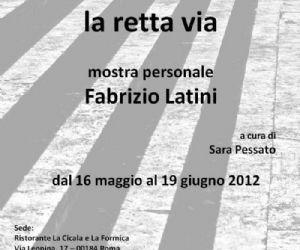 Altri eventi: Fabrizio Latini