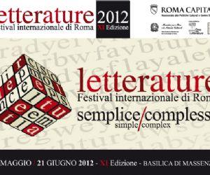Festival: LETTERATURE. Festival Internazionale di Roma (XI edizione)
