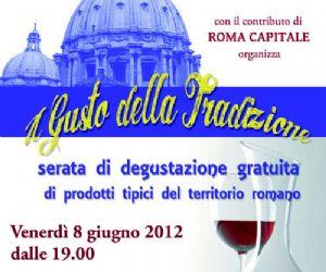 Serate: degustazioni gratuite di prodotti tipici della campagna Romana