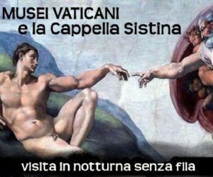 Visite guidate: I Musei Vaticani e la Cappella Sistina di notte - 22 giugno 2012