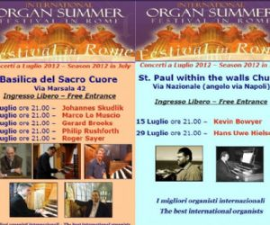 Concerti - International Organ Summer Festival in Rome 2012