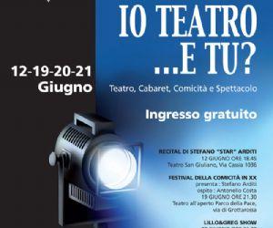 Spettacoli - Estate romana: Mercoledì 20 giugno appuntamento con la comicità di Lillo&Greg