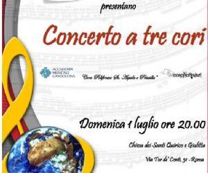 Concerti: Aifo - Concerto a tre cori ...