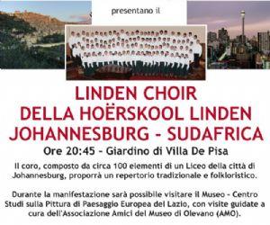 Altri eventi - Linden Choir a Olevano Romano
