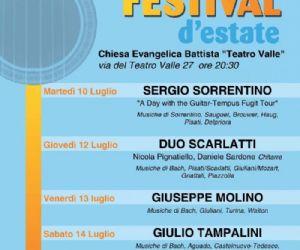 Festival - CHITARRA FESTIVAL d'estate