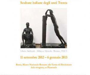 Mostre - Il moderno attraverso l'antico. Sculture italiane degli anni Trenta