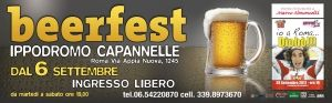 Serate: Beer fest all'Ippodromo di Capannelle