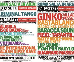Altri eventi - ROMA SALTA IN ARIA al Parco degli Acquedotti