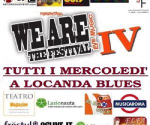 Locali: dal 19 Settembre ... We A.R.E. The Festival IV, tutti i mercoledi' a Locanda Blues