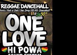 Concerti: ONE LOVE HI POWA Sound System
