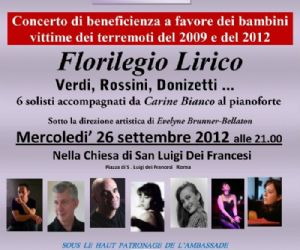 Concerti: PRIMO CONCERTO DI OPERACASA IN ITALIA