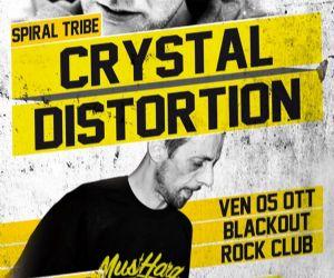 Concerti - CRYSTAL DISTORTION & DAVID GREEN INFRABASS @ BLACKOUT