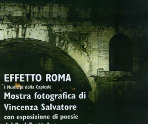 Mostre: Mostra fotografica EFFETTO ROMA. I MUNICIPI DELLA CAPITALE di Vincenza Salvatore