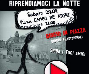 Attività: A ROMA TORNANO I GIOCHI IN PIAZZA PER I GIOVANI FRA TROTTOLE, BIGLIE E BIRILLI