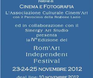Festival: REGOLAMENTO ROM'ART INDEPENDENT FESTIVAL