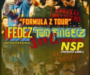 Concerti: Parte a ottobre il FEDEZ e TWO FINGERZ in TOUR