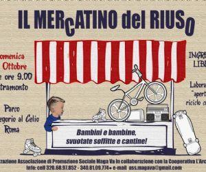 Altri eventi: A San Gregorio al Celio: MERCATINO DEL RIUSO