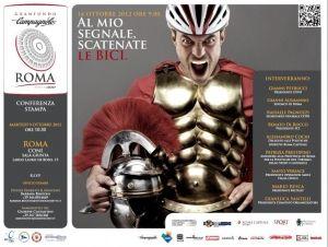 Altri eventi - Granfondo Roma Campagnolo 2012 corre per Operation Smile