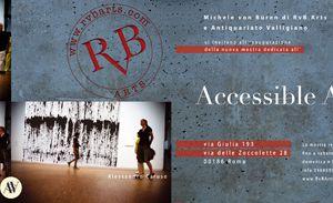Gallerie - RvB Arts - Accessible Art, mostra di Caruso, Caselli, Iorizzo