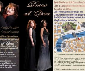 Concerti: Donne all'Opera - Le più belle Arie d'Opera interpretate da Sabrina Trojse al pianoforte e Stefania Murino soprano