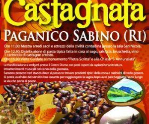 Sagre e degustazioni: Tredicesima edizione della Castagnata Paganichese Domenica 4 Novembre 2012