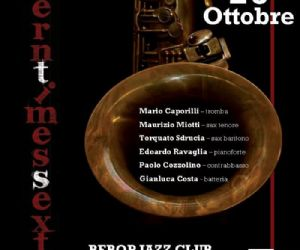 """Concerti: Il """"Modern Times sextet"""" presenta il progetto """"Gerry Mulligan portrait"""","""