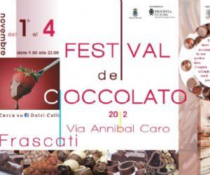 Festival - Frascati, una perla di… dolcezza: arriva il Festival del Cioccolato