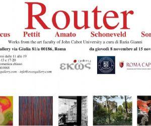 Gallerie: Router Mostra di Pittura e Fotografia