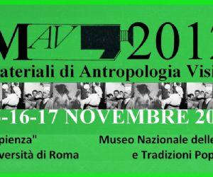 Rassegne - MAV 2012 - Materiali di Antropologia Visiva