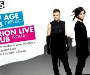 Concerti - The Rasmus all' Orion Club di Ciampino