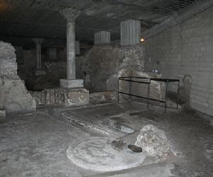 Visite guidate: AREA ARCHEOLOGICA DI SAN GIOVANNI IN LATERANO - LA DOMUS DEI LATERANI E LA CASERMA DEGLI EQUITES SINGULARES