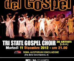 Concerti: LA NOTTE DEL GOSPEL TRI STATE GOSPEL CHOIR   30 ARTISTI [U.S.A.]