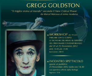 Altri eventi: GREGG GOLDSTON: PER LA PRIMA VOLTA A ROMA