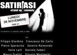 Spettacoli: Satiriasi - Stand Up Commedy