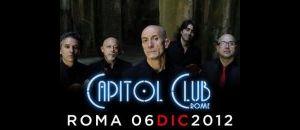 Concerti: Peppe Servillo & Solist String Quartet Live al Capitol Club