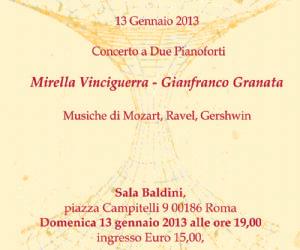 Concerti: Concerto 2 pianoforti Mirella Vinciguerra - Gianfranco Granata
