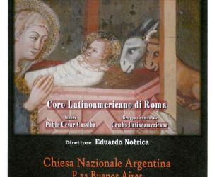 Concerti: Il Coro Latinoamericano di Roma, presenta per il Concerto di Natale La Navidad Nuestra