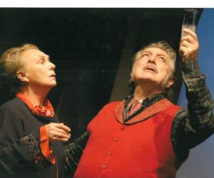 Spettacoli: Elena Cotta e Carlo Alighiero in L'Anatra all'arancia al Teatro Manzoni