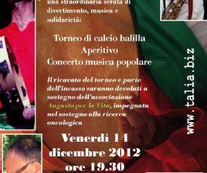 Concerti: Concerto Talià - in collaborazione con il Nomadi Fans Club