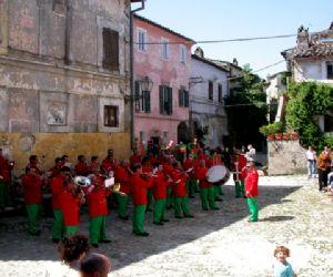 Concerti: Il concerto di Natale della banda di Calcata